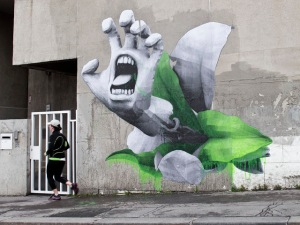 streetartnews_ludo_screaming_flower_paris